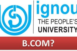 How to do BCOM from IGNOU?